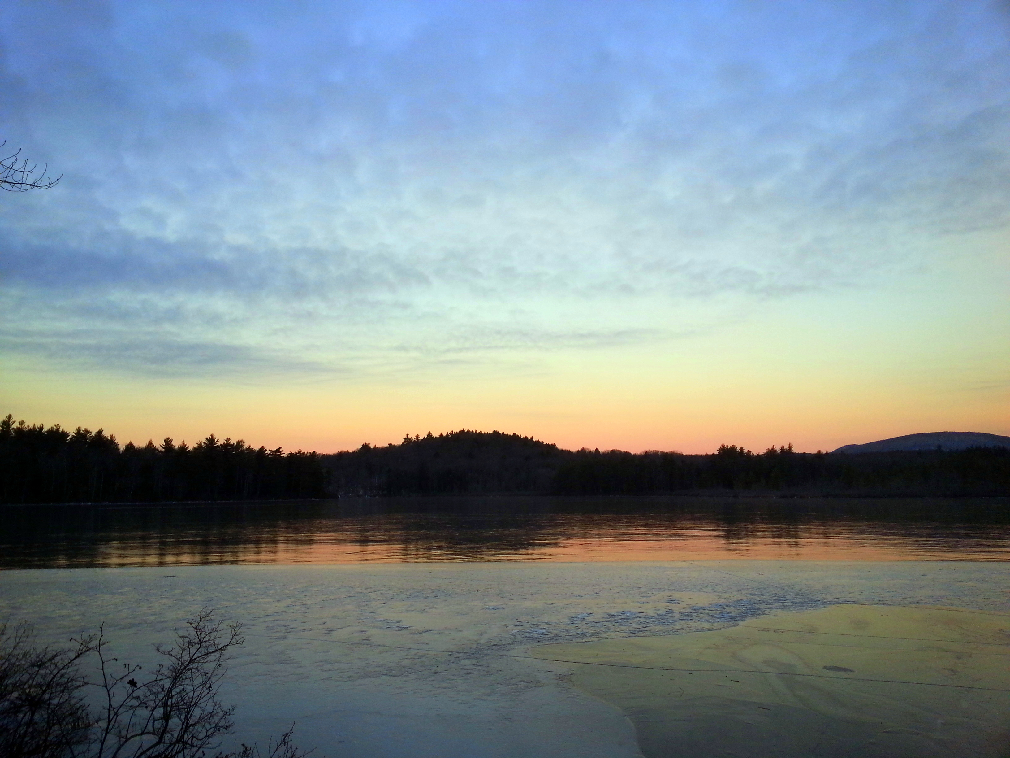 4. Half Moon Pond at Sunrise
