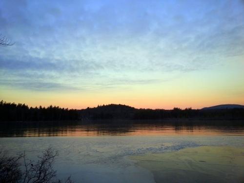 4. Half Moon Pond at Sunrise