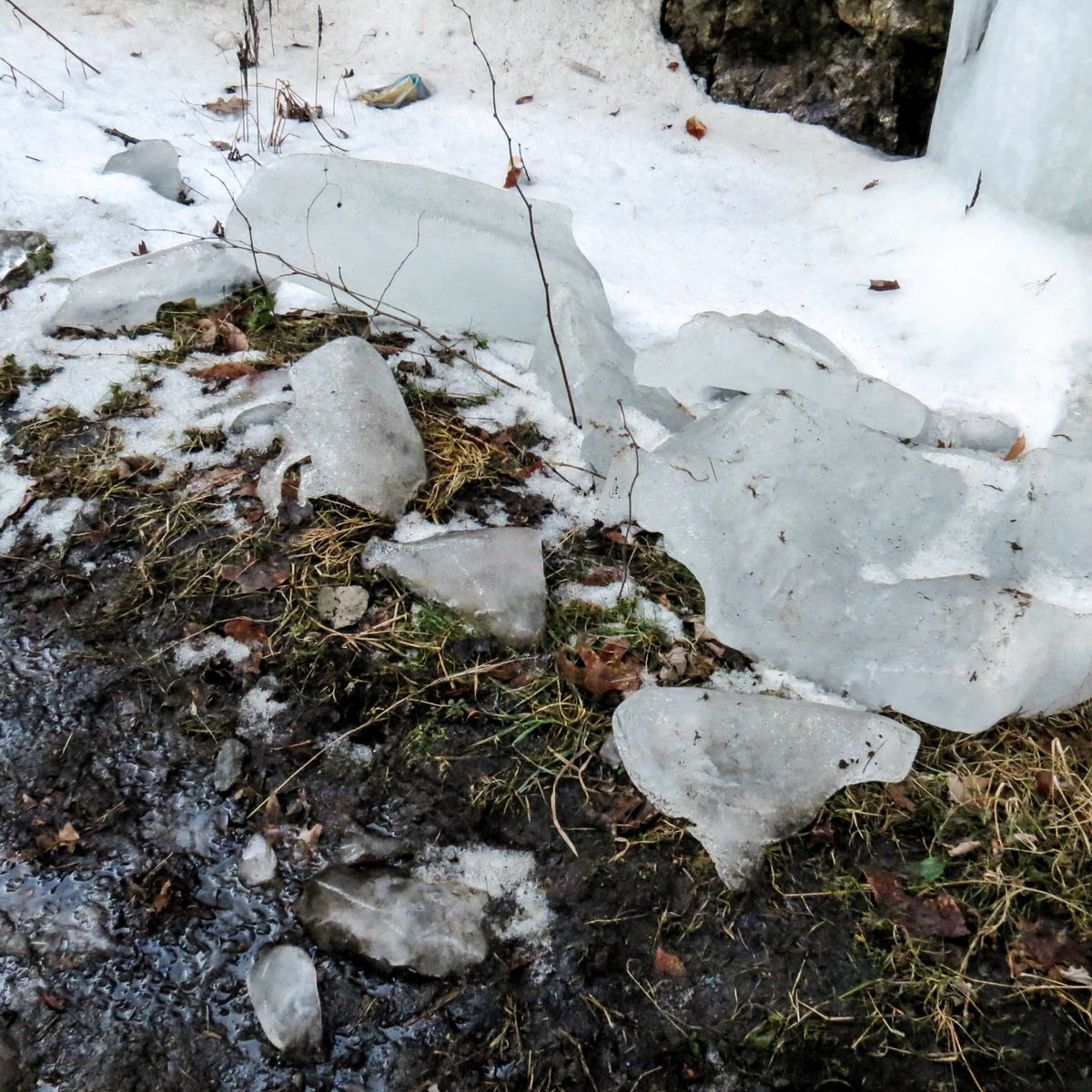 9. Fallen Ice