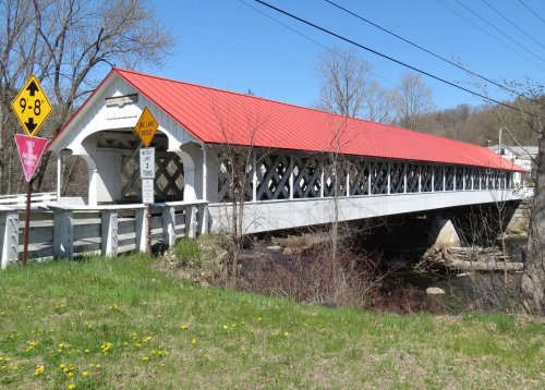 9. Ashuelot Covered Bridge