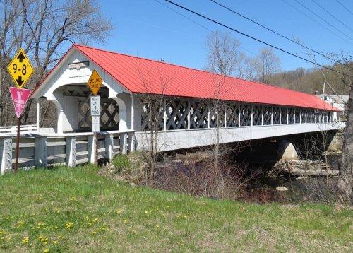 9. Ashuelot Covered Bridge